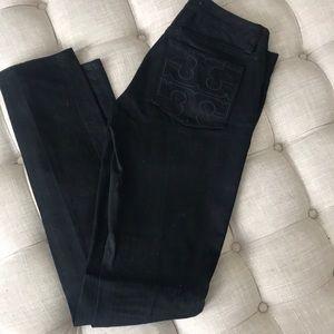 Black Tory Burch jeans